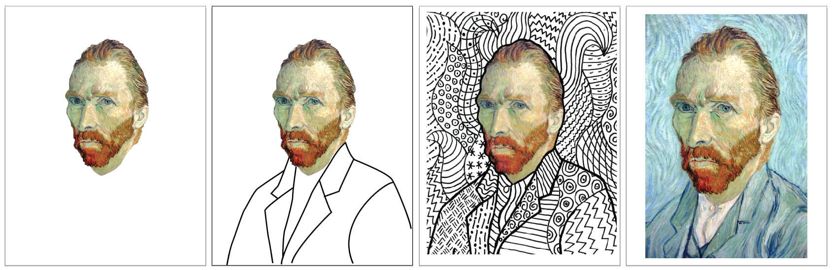 van gogh art projects for kids
