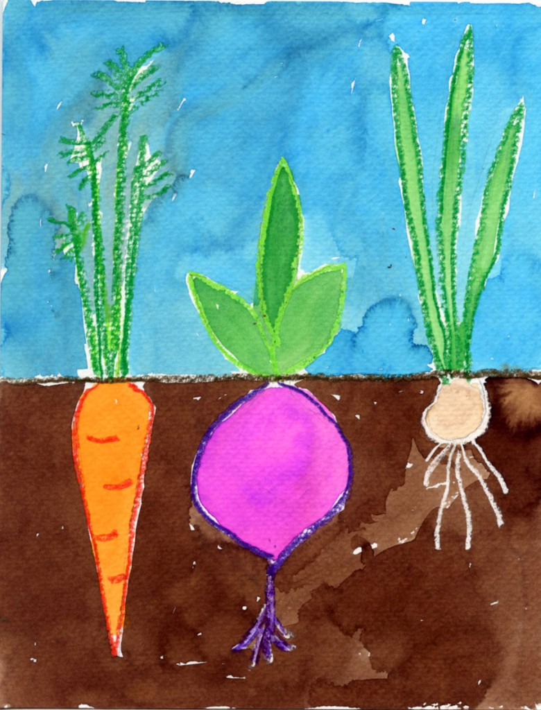 Vegetable garden art - Vegetable Garden Art 11
