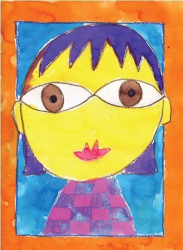 Hundertwasser Portrait Tutorial