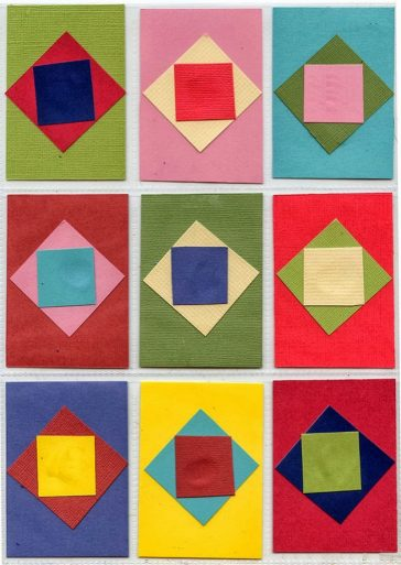 Paper Quilt ATCs