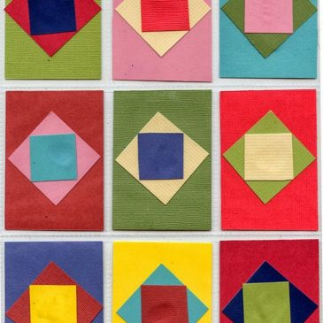 Paper Quilt Art Trading Cards