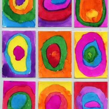 Kandinsky Art Trading Cards