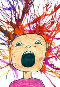 The Scream Art
