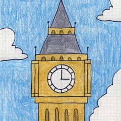 drawing big ben