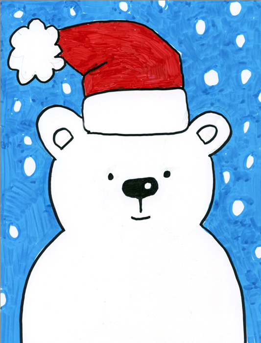 Snow Bear Art Projects For Kids