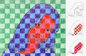 Chuck-Close-with-squares-diagram-1024x677