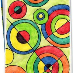 Sonia Delaunay Art Journal Project