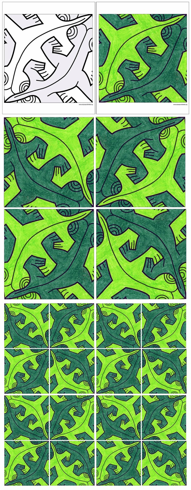 MC Eschers Art Continues To Amaze People All Over The World His Many Nature Themed Tessellations Are Both Lovely And Brilliant