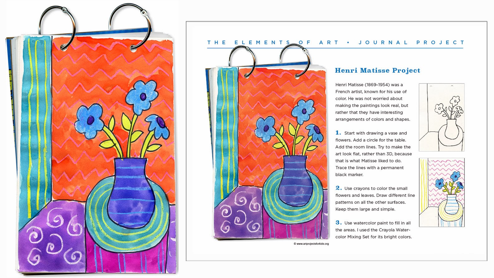 Matisse Patterns middot Art Projects for Kids