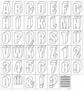 Alphabet diagram