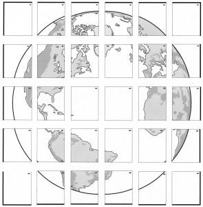Blue Planet collaborative art project diagram