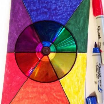 CD Color Wheel