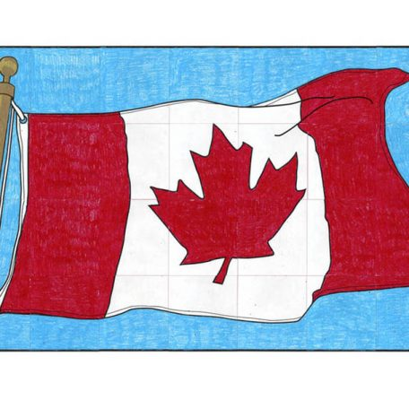 Canada flag to print