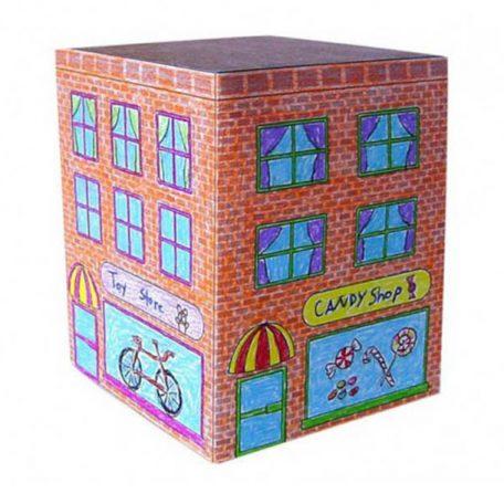 paper model buildings