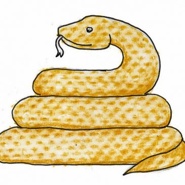 Draw a Coiled Snake