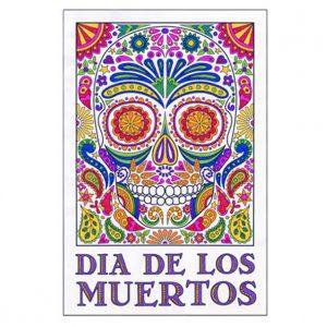 Nutcracker mural art projects for kids for Dia de los muertos mural