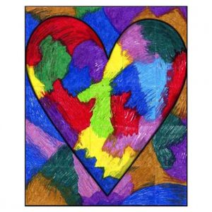 Jim Dine mural collaborative art project