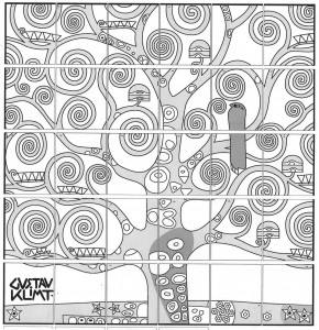 klimt tree of life art projects for kids