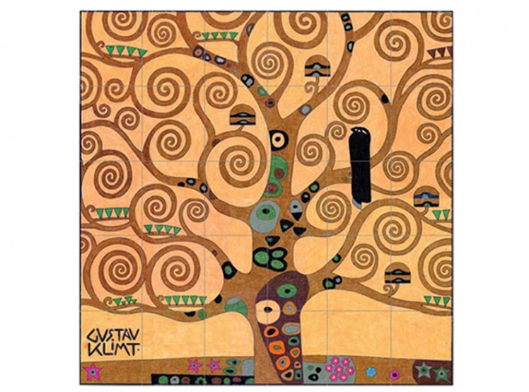 Gustav Klimt Tree of Life · Art Projects for Kids