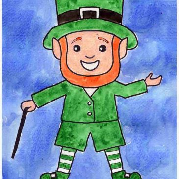 Drawing a Leprechaun