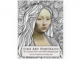 Line Art Portrait eBook