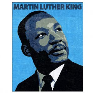 Martin Luther King mural collaborative art project