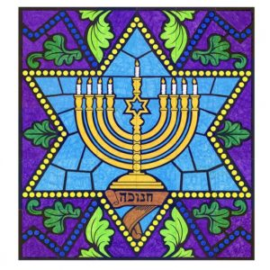 Hanukkah collaborative art project