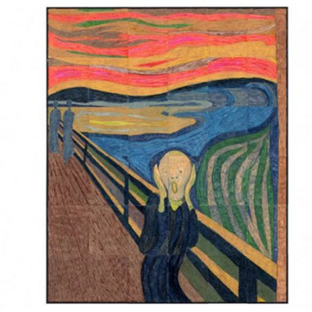 Munch's The Scream collaborative art project