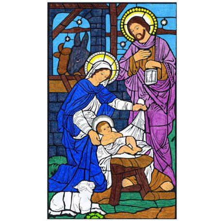 nativity mural