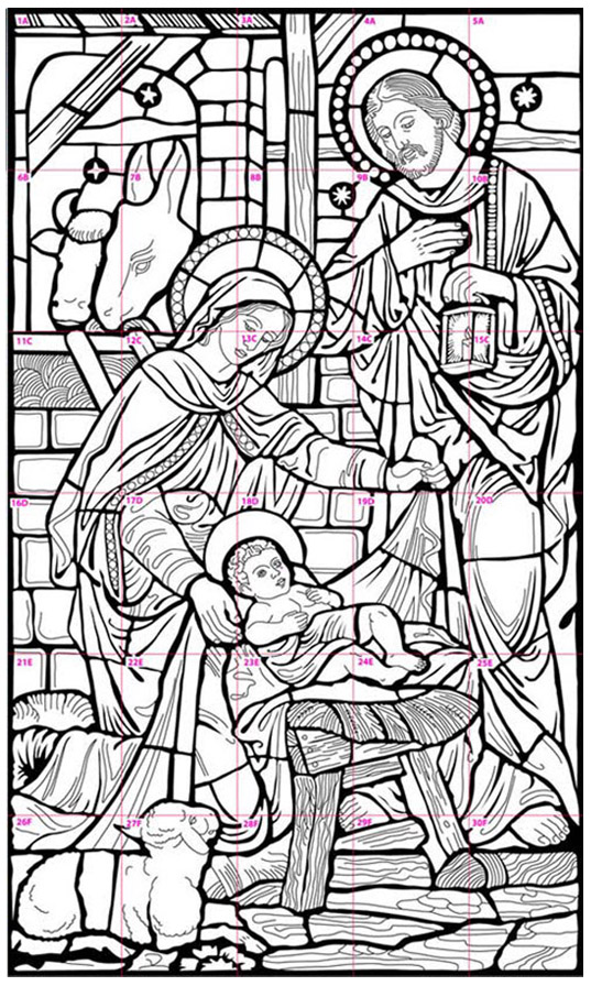 d arte mural coloring pages - photo#40