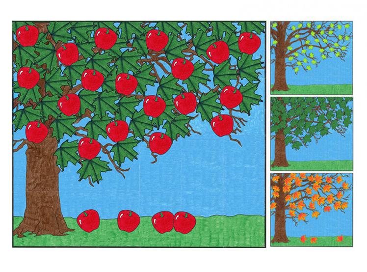 Seasonal Tree 183 Art Projects For Kids