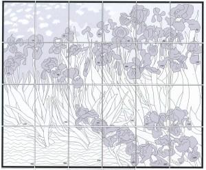 Van Gogh Iris diagram