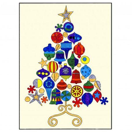 Warhol Christmas Tree collaborative art project