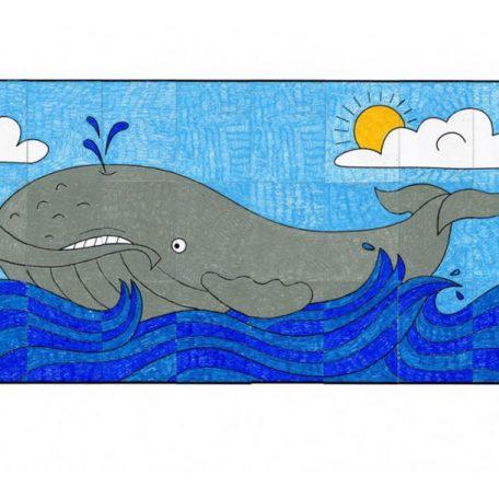 whale printable