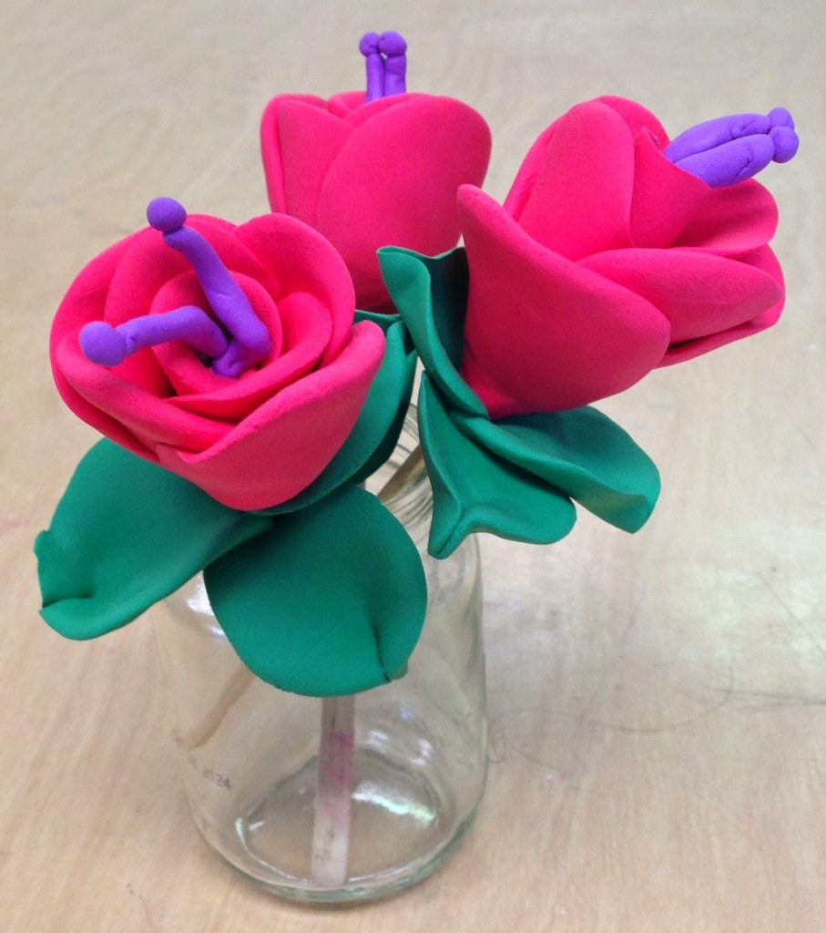Model Magic Mother's Day Flowers · Art Projects for Kids on Model Ideas  id=29151
