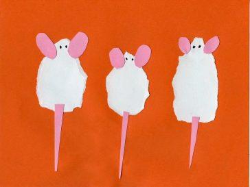 Three Torn Mice