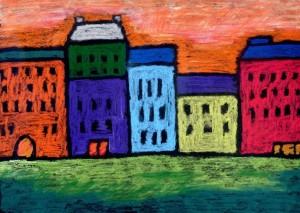 Kandinsky Cityscape project