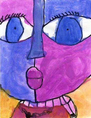 Big Face Painting Tutorial