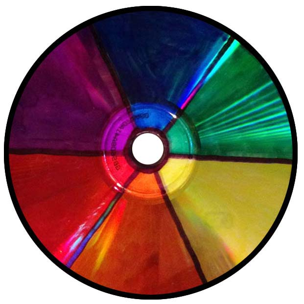 I Have Tips To Help Students Make A CD Color Wheel They Involve Bit Of Eyeball Measuring Which Estimates Works Fine For This Purpose