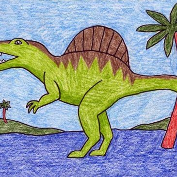 Draw a Spinosaurus