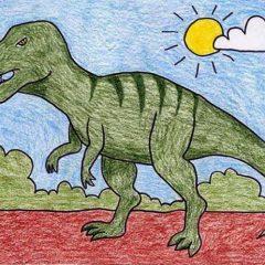 Draw a T-Rex