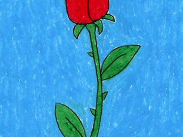 Draw an Easy Rose