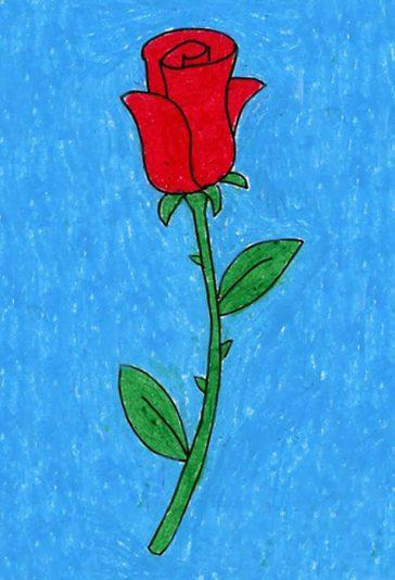 Draw a Rose tutorial