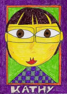 Hundertwasser-Portrait