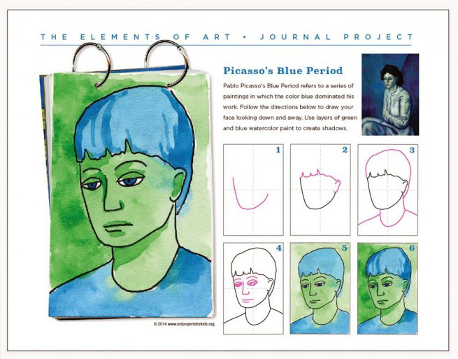 picasso projects for kids