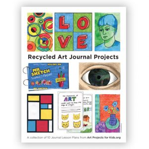 Recycled Art Journal 1