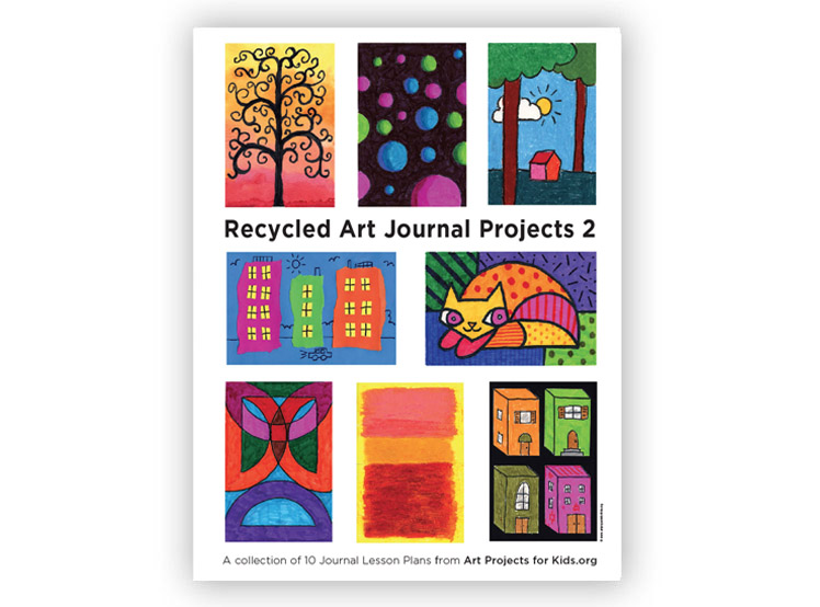 recycled art journal 2   art projects for kids