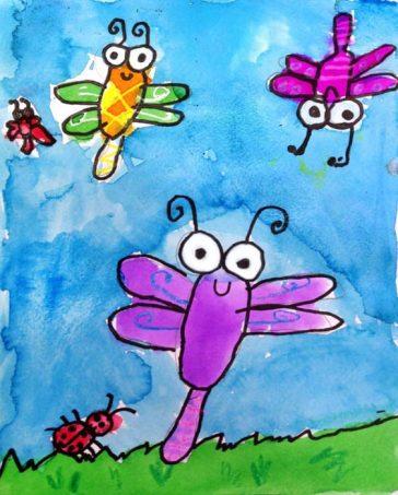 Super Simple Bug Painting
