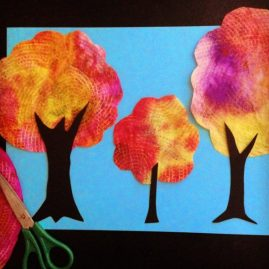 fall art projects for elementary students