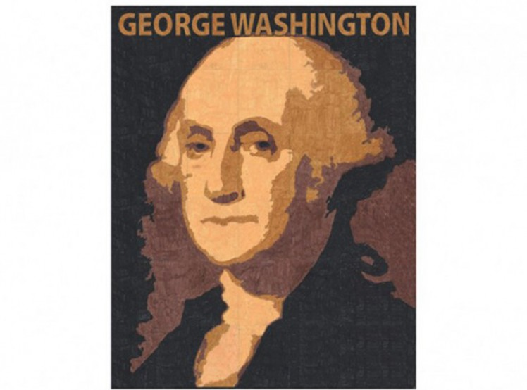 george washington mural art projects for kids